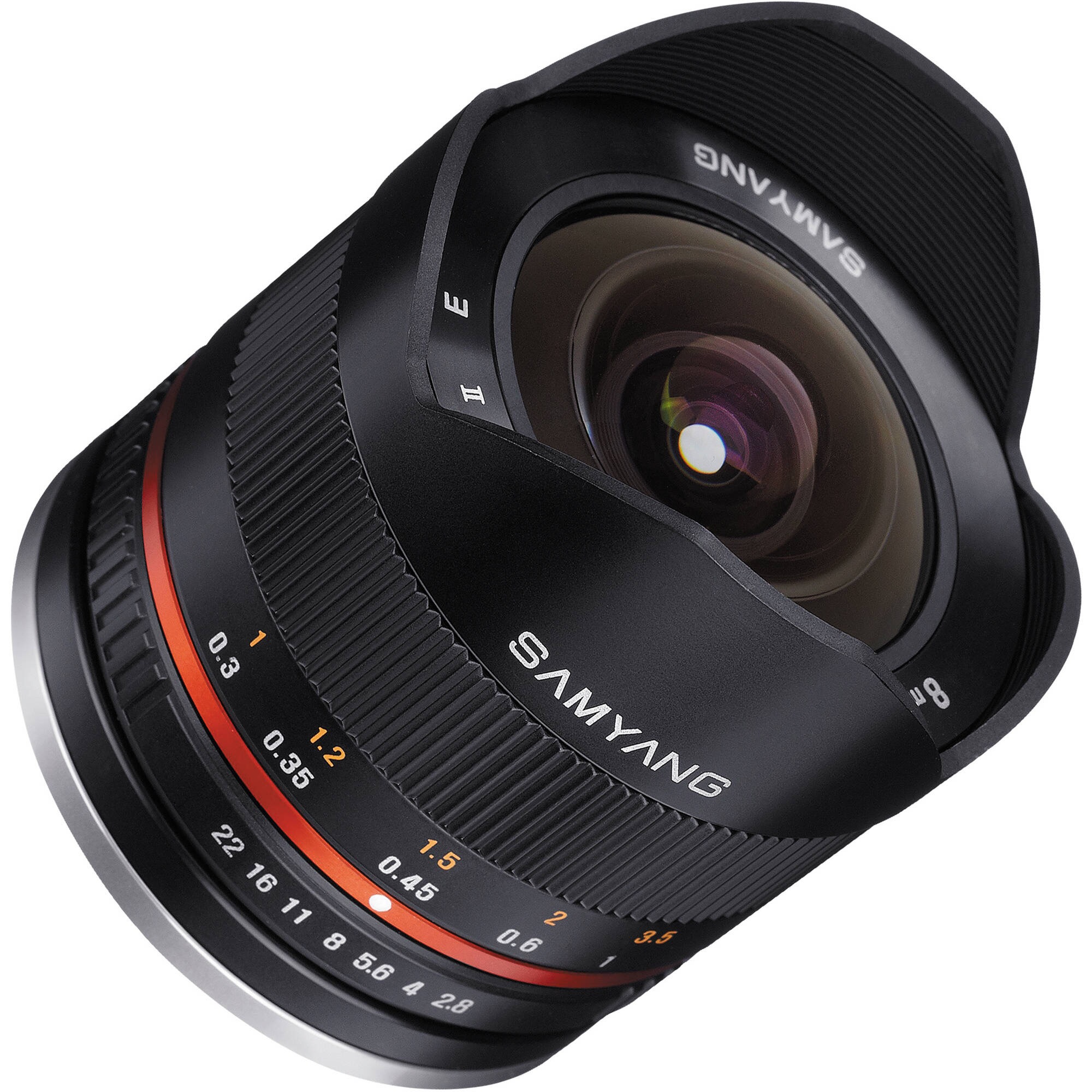 Объектив Samyang Samsung NX MF 8 mm F/2.8 UMC Fish-eye II Black