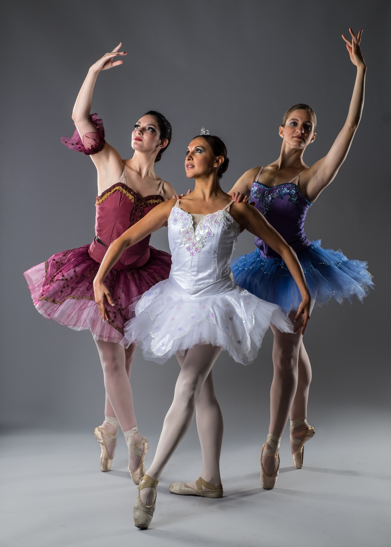 Ballerinas, X-T1 and Phottix Indra lights