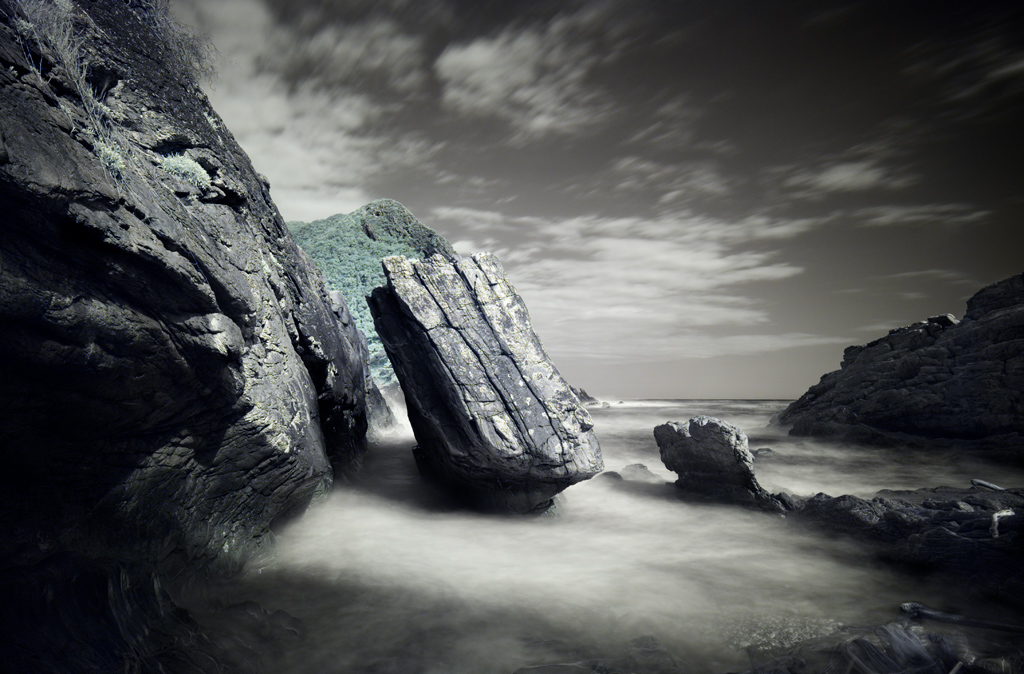 This Is A Famous Rock On The Storms River Mouth Hiking Trail Called Peet Se