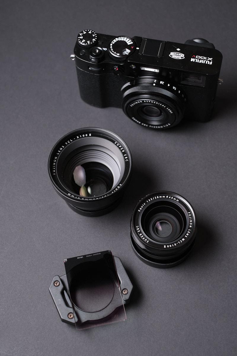 Fujifilm X100V Conversion Lens - NiSi Filters