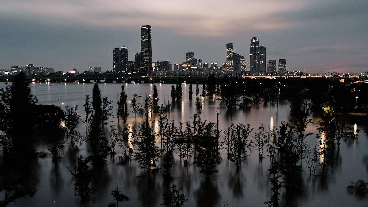 Han River Flooding - Fujifilm X-T4