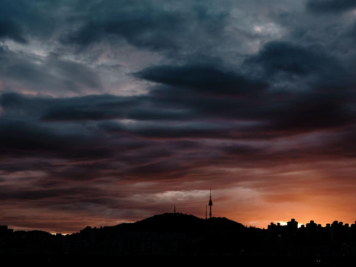 Fujifilm X100F - Monsoon Sunset
