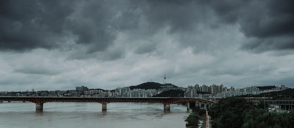 Seoul Tower Monsoon - Fujifilm X100F