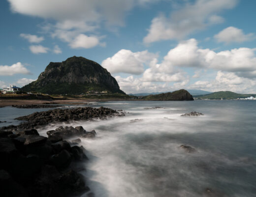 Long Exposure Jeju Island
