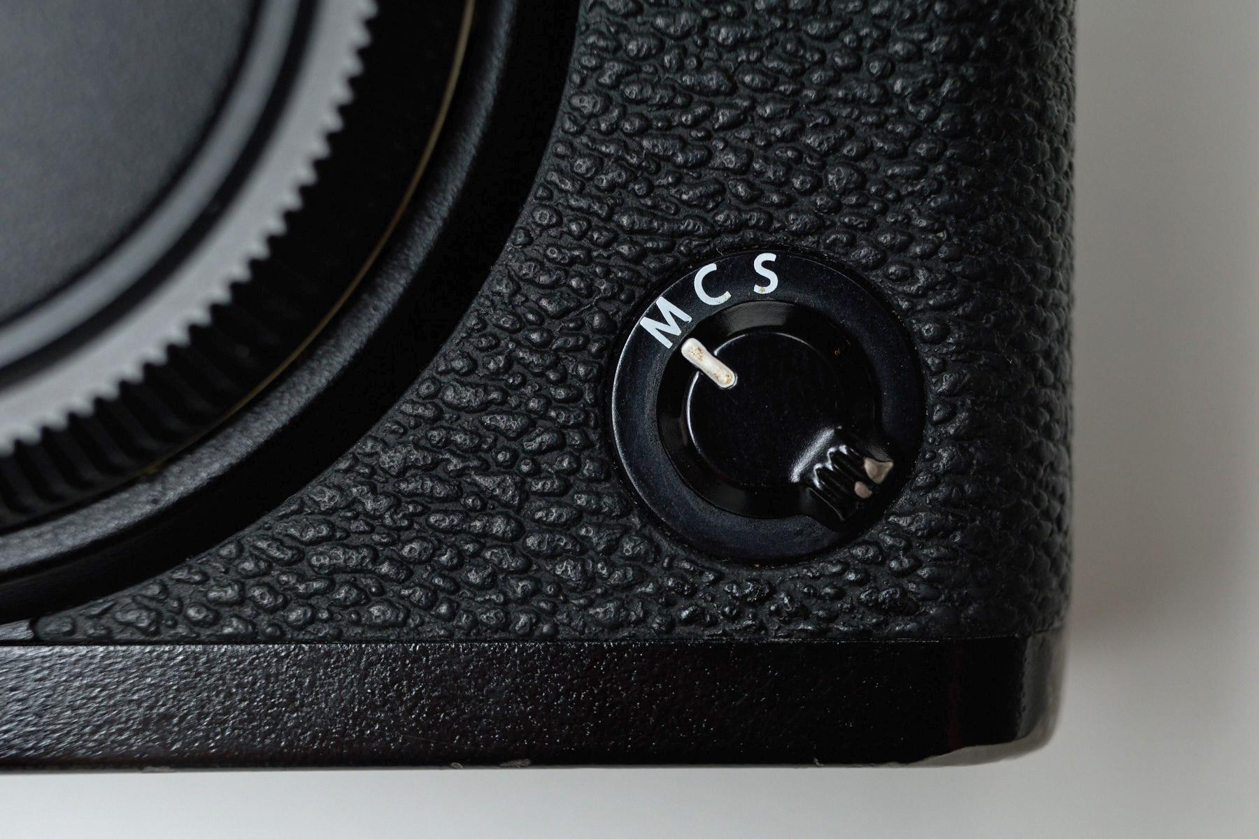 Fujifilm Manual Focus Switch